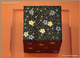 春秋4.0三段重箱12cm漆器