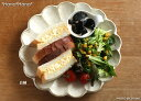 磁器なのに土物の味わい☆【小兵さんちの食卓・リンカ】八寸皿24.5cm