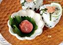 カネコ小兵 リンカ 花型豆鉢 8.5cm 白練/茶練//美濃焼 和食器 買いまわり