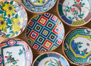 九谷焼 古典柄コレクション 豆皿 【色絵】 10cm 買いまわり