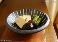 鉄錆十草/浅鉢15.5cm(燈窯)