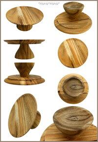 マリントピア木製ケーキスタンド21.7cm