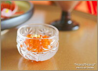 茜ガラス珍味入れ豆鉢4.5cm(クリア)