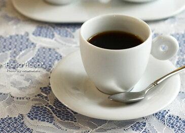 クレセント エスプレッソコーヒー カップ&ソーサー 110cc ホワイト