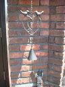 バード ベル ハンギング アイアン 壁掛けガーデニング ガーデン【花遊び】『アイアンラブバード♪ハンギングベル』