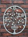 ハンギング アイアン ジャルダン 壁掛けガーデニング ガーデン アンティーク【花遊び】『JARDIN FLOWER WALL DECORL・S』