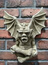 NEW!English Horned Gargoyle Plaque【6月下旬の入荷予定です】