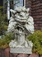 ガーゴイル グレムリン イングリッシュ 英国ガーデニング ガーデン 魔除けグッズ ストーン製 送料無料【花遊び】『English Gargoyle Scull Wing』他の商品と同梱ご希望でも、別途送料(864円)が発生致します。
