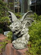 ガーゴイル グレムリン イングリッシュ 英国ガーデニング ガーデン 魔除けグッズ ストーン製 送料無料【花遊び】『English Griffin』【3月上旬のお届け予定です】