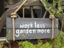 ガーデニング ローズ ハンギング 壁掛け ウエルカム寄せ植え ガーデニング ガーデン【花遊び】『クロワール オーナメントボード・A』