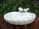 ガーデニング ガーデン 雑貨 バード小鳥 アンティーク【花遊び】『アンティーク風♪シェルバード…