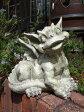 グレムリン ガーゴイル オーナメント 英国樹脂 ガーデニング ガーデン 魔除けグッズ【花遊び】『ガーデン モンスター・A』