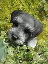 ガーデニング ガーデン いぬ アニマル プランター寄せ植え ハンギング 雑貨 【花遊び】『ハンギング!パピーシュナウザー』