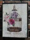 ガーデニング ローズ ハンギング 壁掛け寄せ植え ガーデニング ガーデン【花遊び】『ラスティックボード♪ローズ・A』