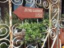 ガーデニング ガーデン 雑貨 ブリキ アイアンオーナメント ハンギング インテリア 寄せ植え プランター アンティーク【花遊び】『アローサインポケット』