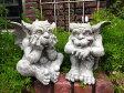 ガーデニング ガーデン ガーゴイル 置物樹脂 アニマル 動物 雑貨 【花遊び】『ガーデン ガーゴイル』