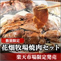 楽天市場限定販売商品!花畑牧場焼肉セット