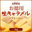 花畑牧場【お徳用】生キャラメルプレーン 1kg