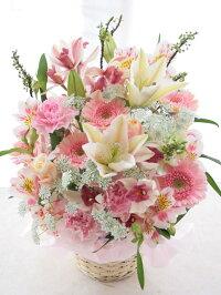 【Today'sアレンジLサイズ】(おまかせアレンジ)【生花】【フラワーアレンジメント】