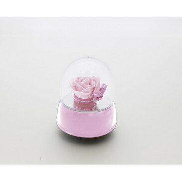 OrangeDeco/ドームオルゴール PK ピンク/FJ-256【01】【01】【取寄】《 花器、リース 花器・花瓶 セロンドーム 》