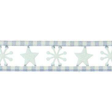 青山リボン/スターダスト 25X5 NO.46/1660-46【01】【取寄】《 リボン シーズナルリボン クリスマスリボン 》
