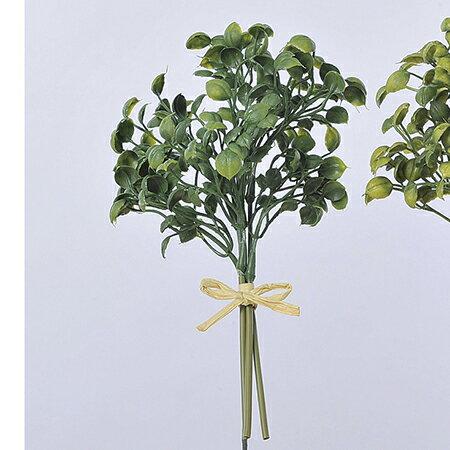 即日 【造花】アスカ/エンジェルリーフバンチ (1束3本) グリ-ン/A-42369-051A《 造花(アーティフィシャルフラワー) 造花葉物、フェイクグリーン ハーブ 》