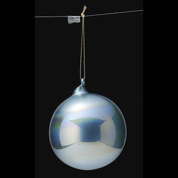 アスカ/カラーガラスボール×3 ブル-/AX68745-9【01】【取寄】《 店舗ディスプレイ クリスマス飾り ボールオーナメント 》