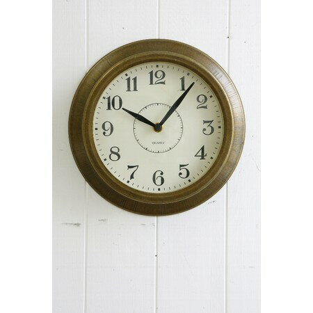 COVENT/ブラスティー・ウォールクロック アンティーク・銅色/BM-05【10】【取寄】店舗ディスプレイ インテリア 時計 手作り 材料