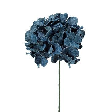 即日★【造花】アスカ/A-39614 デニムハイドランジアピック ブルー/72-39614-9【00】《 造花(アーティフィシャルフラワー) 造花 花材「あ行」 あじさい(紫陽花) 》