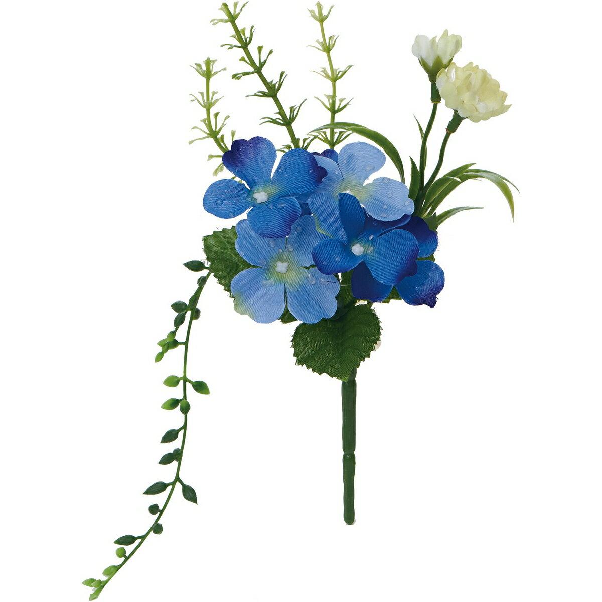 即日 【造花】YDM/アメツキアジサイミックスブッシュ パープル/FS8248-PU