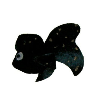ちりめんパーツ 和金魚/KR-F112【01】【01】【取寄】《 手芸用品 和手芸 ちりめんパーツ 》