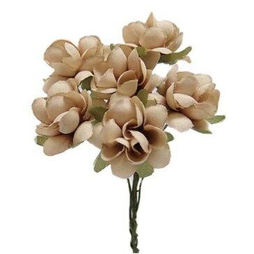 【造花】サンセイ/DSI-02コバラ#53ベージュ 1束/台紙/541335|造花 バラ【01】【取寄】[3個]《 造花(アーティフィシャルフラワー) 造花 花材「は行」 バラ 》