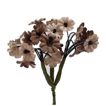 【造花】サンセイ/DSI-05カスミ#53ベージュ 1束/台紙/541338【01】【取寄】[3個]《 造花(アーティフィシャルフラワー) 造花 花材「か行」 かすみ草 》