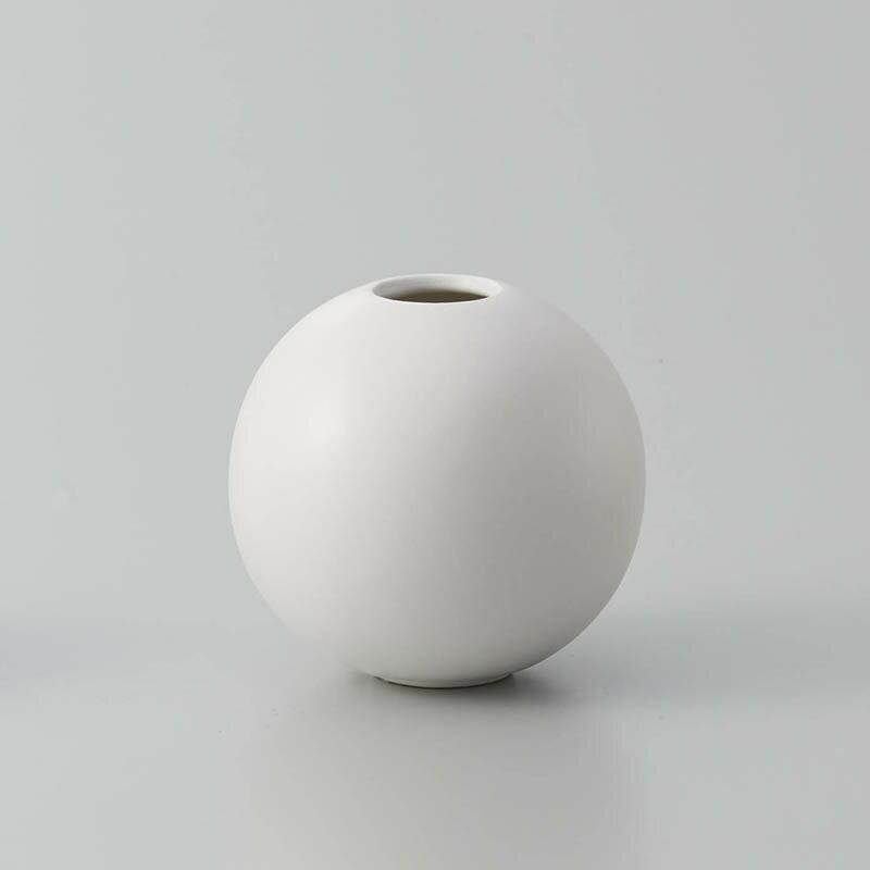即日 クレイ/orb MATT WHITE/326-595-101花器、リース 花器・花瓶 陶器花器 手作り 材料