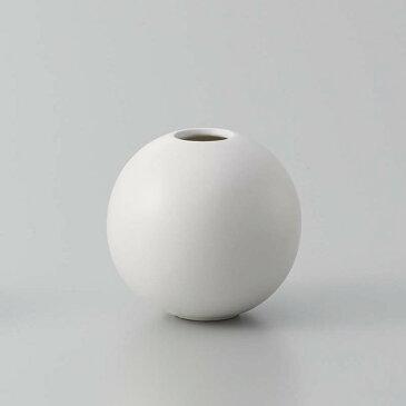即日★クレイ/orb MATT WHITE/326-595-101《 花器、リース 花器・花瓶 陶器花器 》