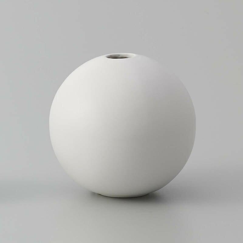 即日 クレイ/orb MATT WHITE/326-596-101 花器、リース 花器・花瓶 陶器花器 手作り 材料