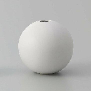 即日★クレイ/orb MATT WHITE/326-596-101《 花器、リース 花器・花瓶 陶器花器 》