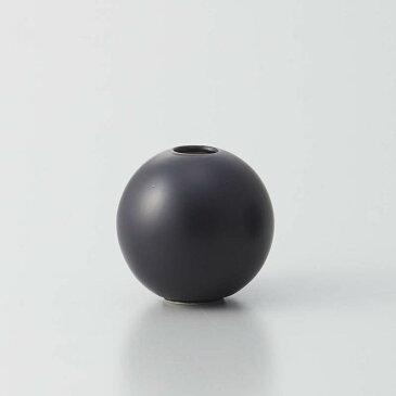 即日★クレイ/orb MATT BLACK/326-596-801《 花器、リース 花器・花瓶 陶器花器 》