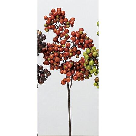 即日 【造花】アスカ/ベリーピック オレンジ/A-47743-030《 造花(アーティフィシャルフラワー) 造花実物、フェイクフルーツ ベリー 》