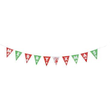 大特価◎YDM/カラフルナイロンフラッグガーランド/CL-1083【01】【取寄】《 店舗ディスプレイ クリスマス飾り ガーランド・チェーン 》