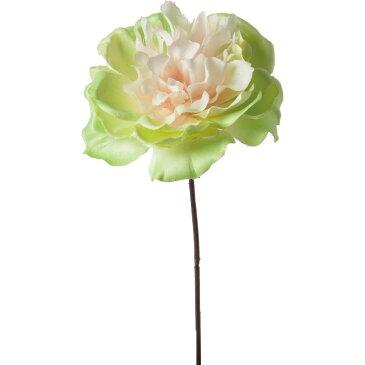 即日 【造花】YDM/重ねボタンピック グリーン/FA-7122-GR|芍薬・牡丹