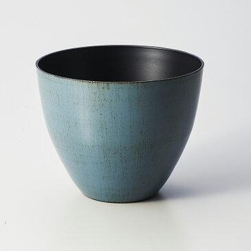 WABIポットL MOI-634 いぶし鼠/134-634-4【01】【取寄】《 花器、リース 花器・花瓶 プラスチック・アクリル花器 》