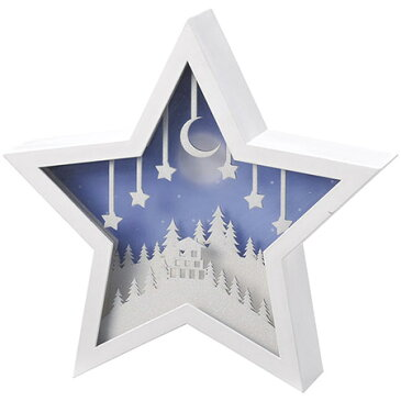松野ホビー/LEDオルゴールアイコン(スター)/XM-7058【01】【01】【取寄】《 店舗ディスプレイ クリスマス飾り スノードーム・卓上イルミネーション 》