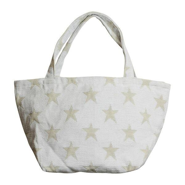 """ハットトリック/MINITOTEBAG""""STARS""""/1Y-023WH 01  取寄 雑貨ファッション手作り材料"""
