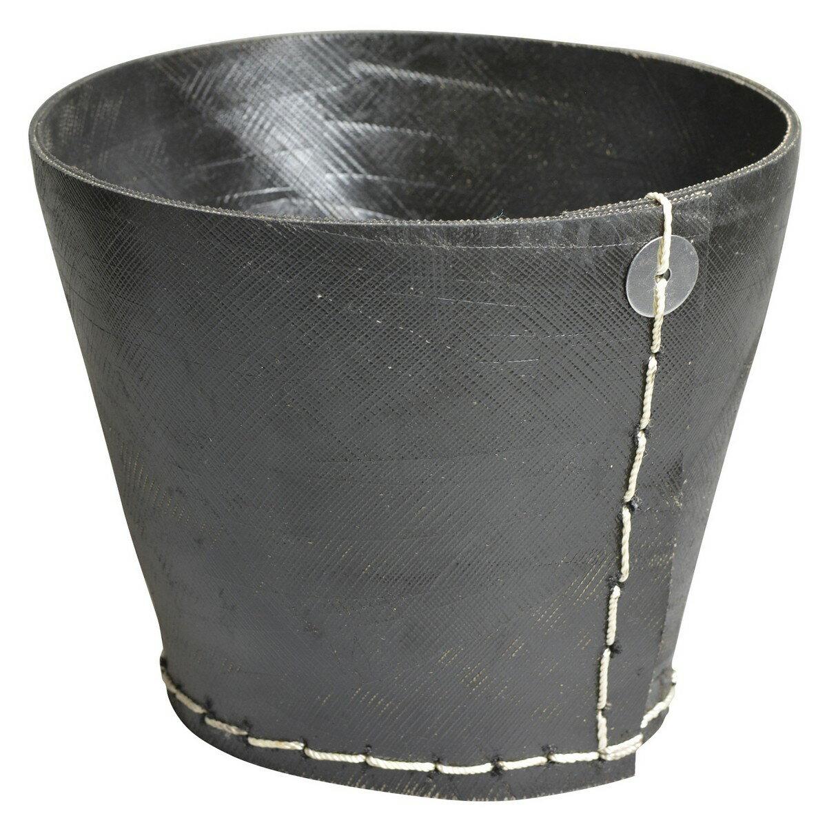 ハットトリック/RECYCLE RUBBER PLANTER (C)/2M-238 L【01】【取寄】 ガーデニング用品 ポット・鉢 鉢カバー 手作り 材料