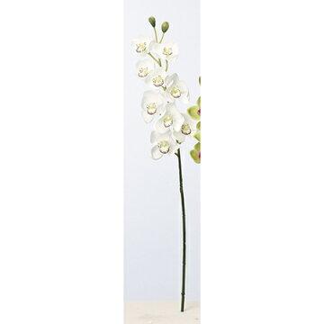 【造花】アスカ/シンビジューム×9つぼみ×2#001ホワイト/A-33336-1【01】【取寄】《造花(アーティフィシャルフラワー)造花花材「さ行」シンビジューム》