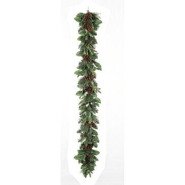 【造花】アスカ/ミックスリーフガーランド/AX69254【01】【取寄】《 花器、リース リース土台 スワッグ 》