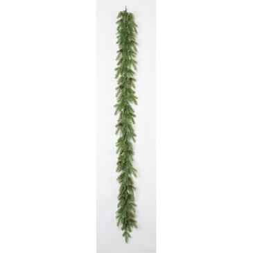 【造花】アスカ/ミックスパインガーランド/AX69175【01】【取寄】《 花器、リース リース土台 スワッグ 》