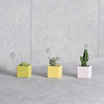 松野ホビー/スクエアーカラーポット グリーン/SP-1253【01】【取寄】[12個]花器、リース 花器・花瓶 陶器花器 手作り 材料