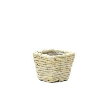 ウメザワ/メイズ D2.5 角/HC-7199【07】【取寄】花器、リース 花器・花瓶 バスケット(花かご) 手作り 材料